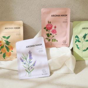 Zestaw aromaterapeutycznych masek w płachcie Beaudiani