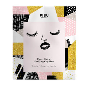 PIBU BEAUTY  FLOWER EXTRACT PURIFYING CLAY MASK