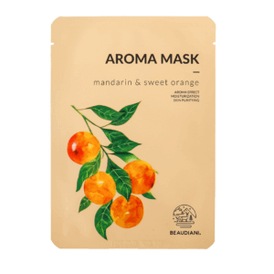 sheet mask mandarin and sweet orange
