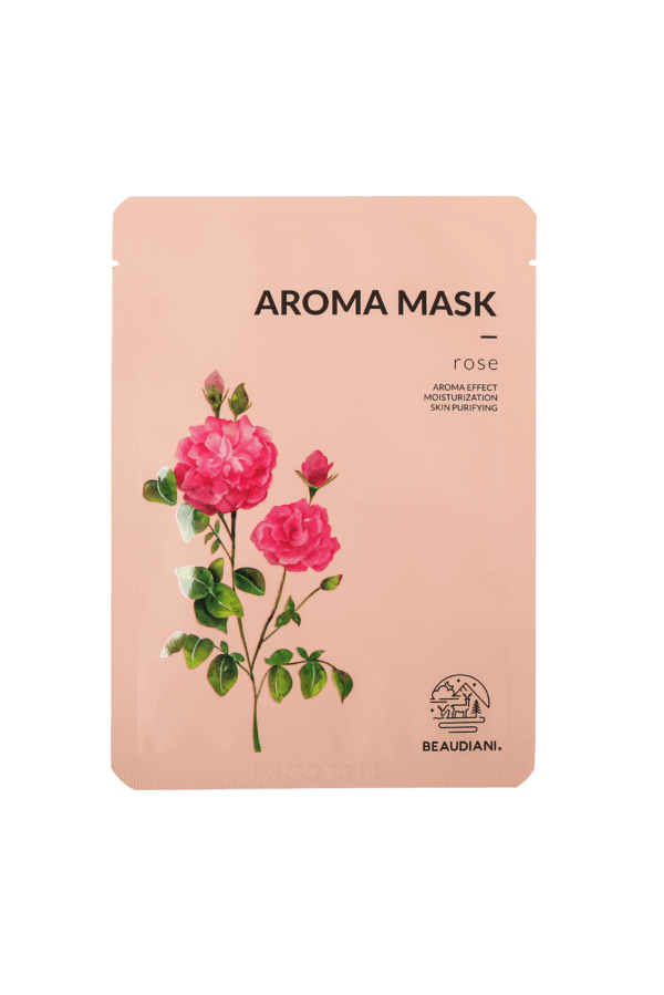 sheet mask rosa damascena